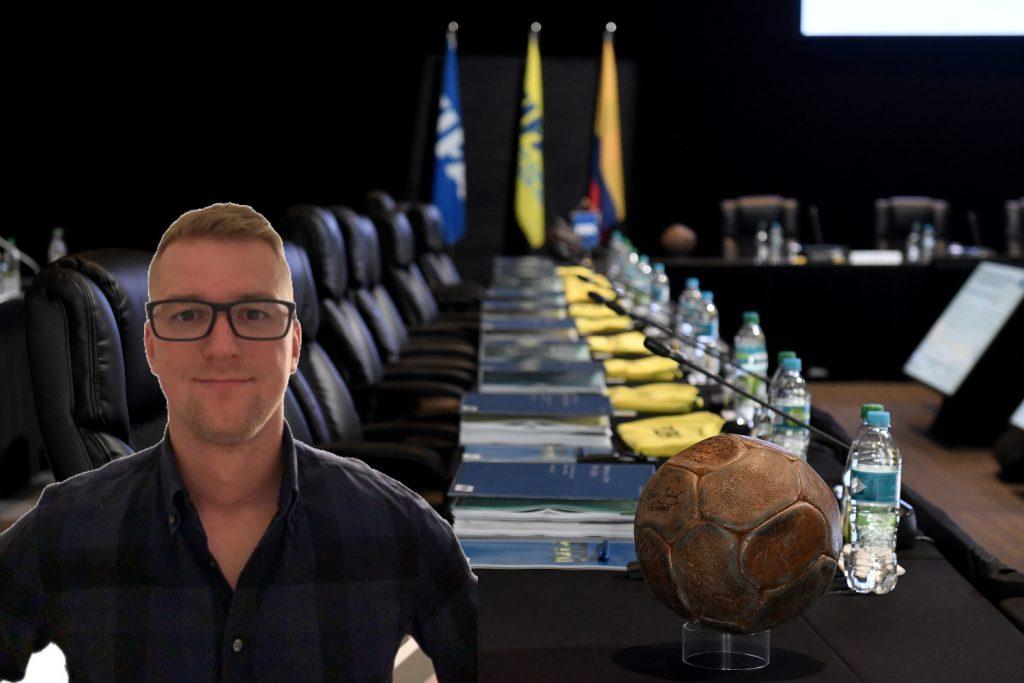 Historický zápis pre ÚFP a profesionálnych hráčov vo FIFA