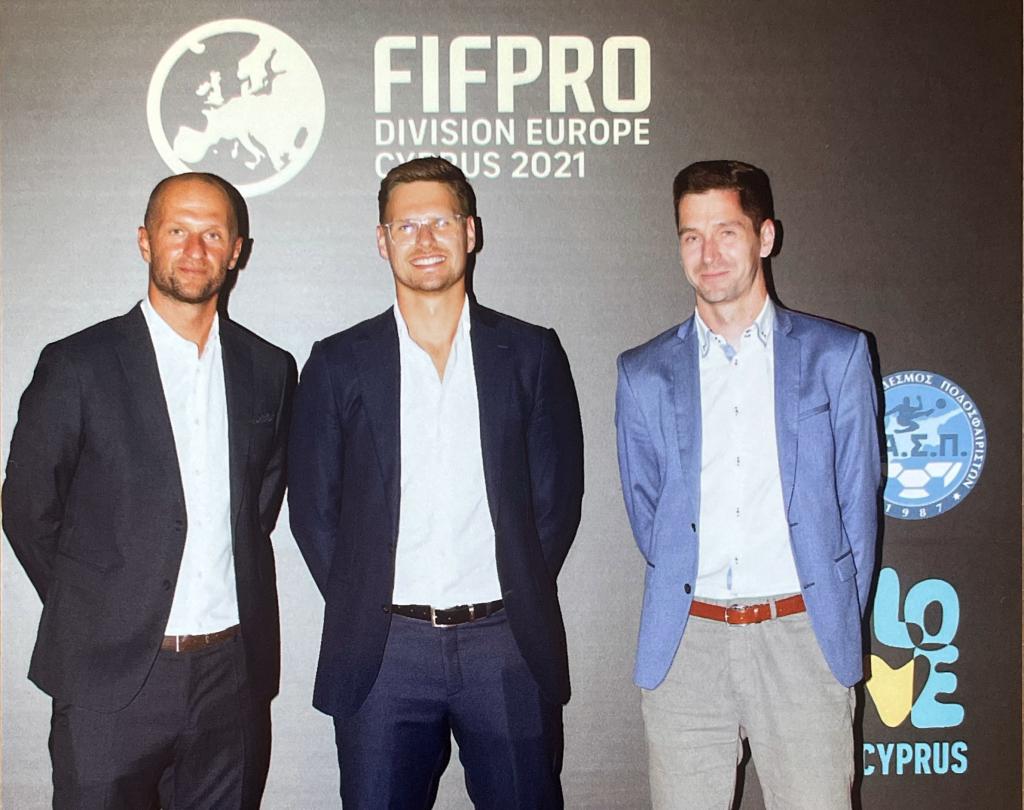 ÚFP na európskom kongrese FIFPRO na Cypre